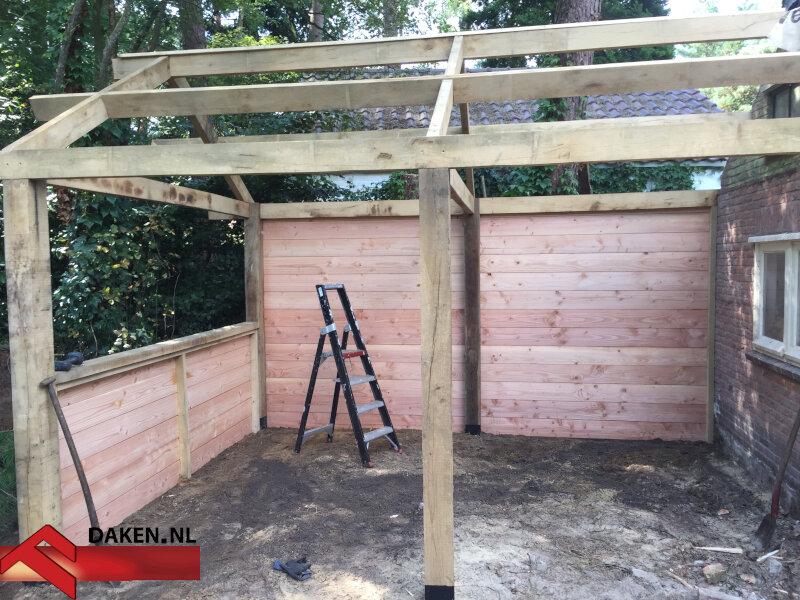 5-Aanbouw-Eikenhouten-Overkapping-Te-Soest-muur-1