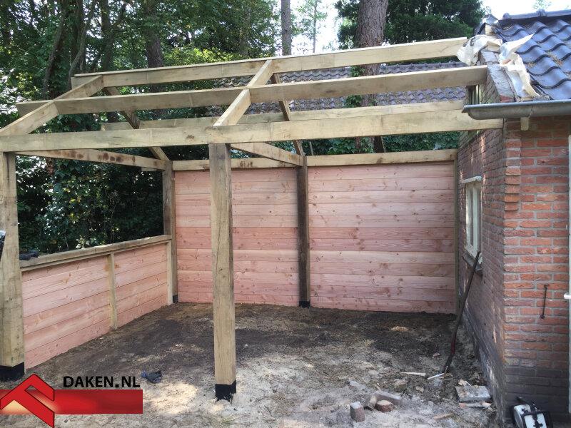 7-Aanbouw-Eikenhouten-Overkapping-Te-Soest-muur-hout-1