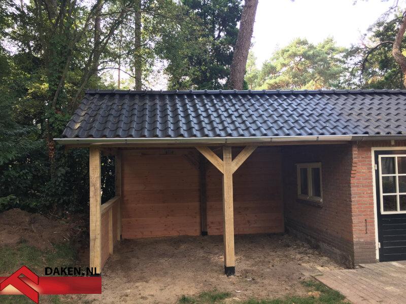 8-Aanbouw-Eikenhouten-Overkapping-Te-Soest-dakpannen-1